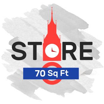 70 Sq Ft Storage Plan